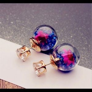 Beautiful two sided earrings